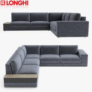 longhi sofa section model