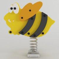 spring swing bee model
