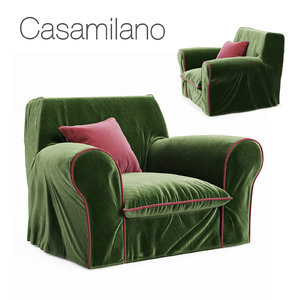 3D casamilano big armchair model