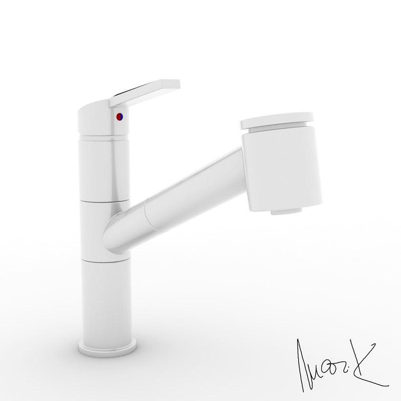 3D model baterie franke fp8244
