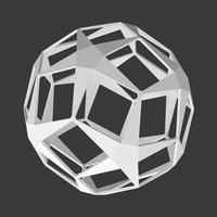 ball stars dodecahedron model