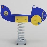 3D spring swing plane