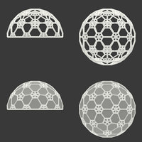 icosphere decor segments 3D