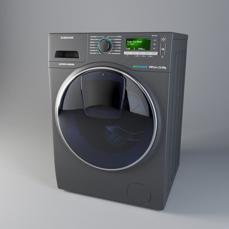 wash machine samsung 3D