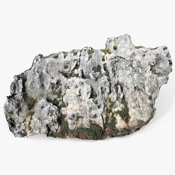 mediterranean cliff 3D