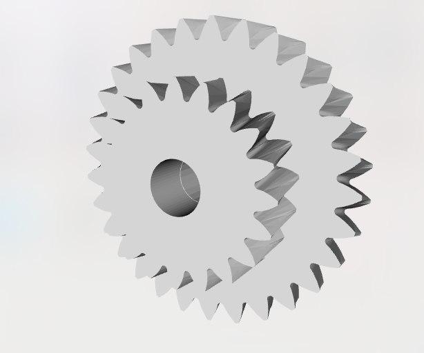 3D pignon robot lg