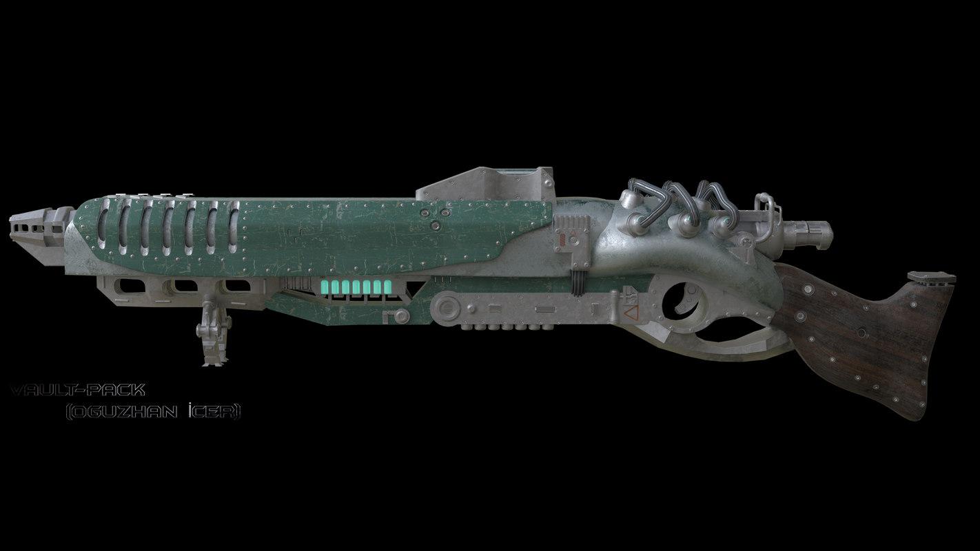gun sc f 3D model