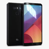 lg g5 astro black 3D model
