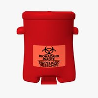 Biohazard Safety Can