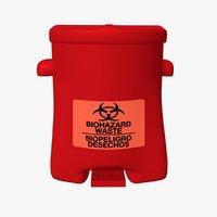 Biohazard Safety Can