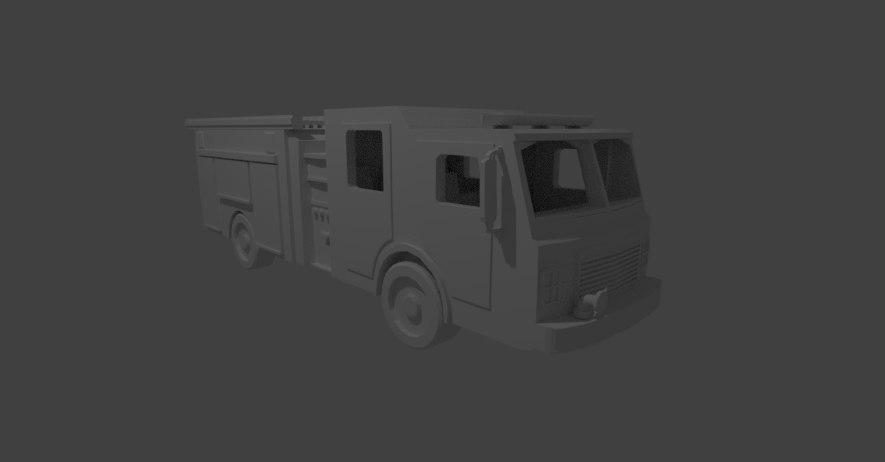 blender engine 3D model