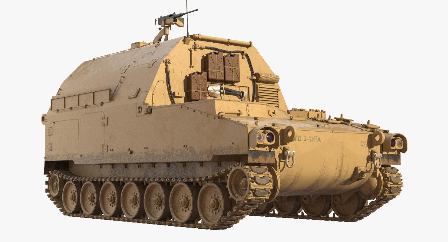 3D m992a2 field artillery ammunition
