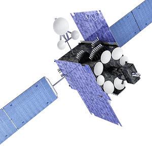 satellite inmarsal 5 3D model