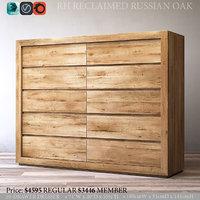 3D restoration reclaimed russian oak model