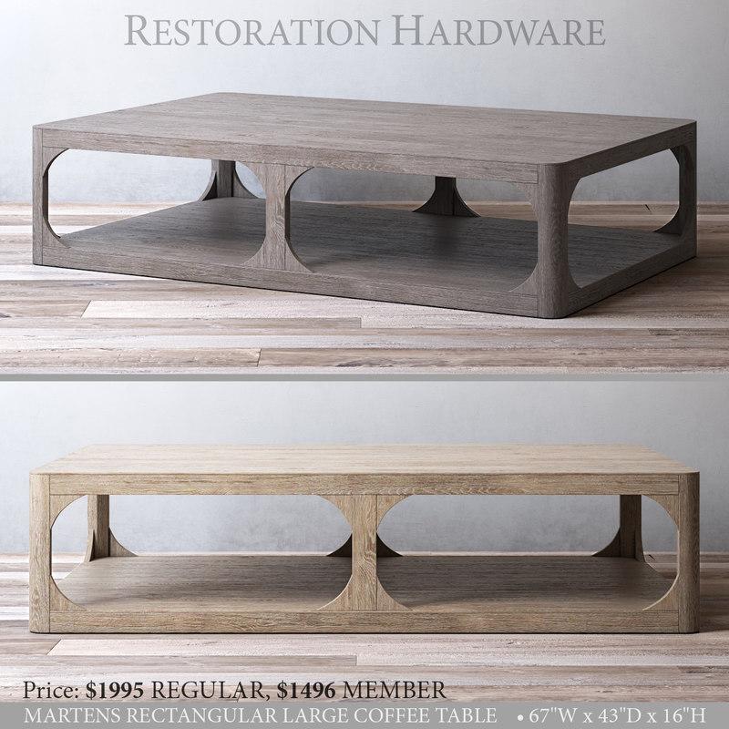 3D restoration martens rectangular large