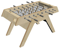 foosball table model