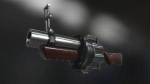 grenade launcher model