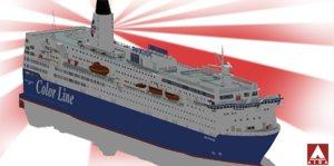 color line peter 3D model
