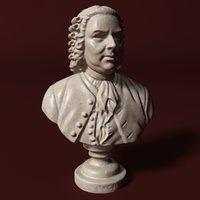 bach german musician model