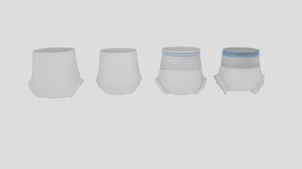 diaper strip culotte protectrice 3D