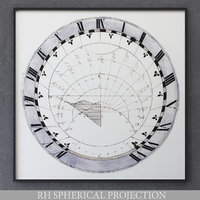 restoration spherical projection model