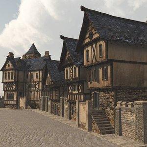 street vue 3D model