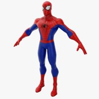 3D superhero character model