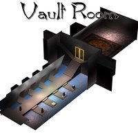 adventurers vault room set 3D