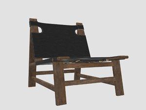 sonora canyon sling chair 3D model