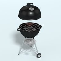 Grill LOD high/lowpoly