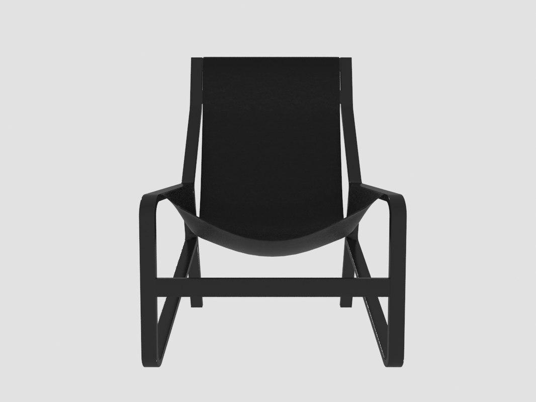 ... 3D Model Bludot Toro Lounge Chair ...