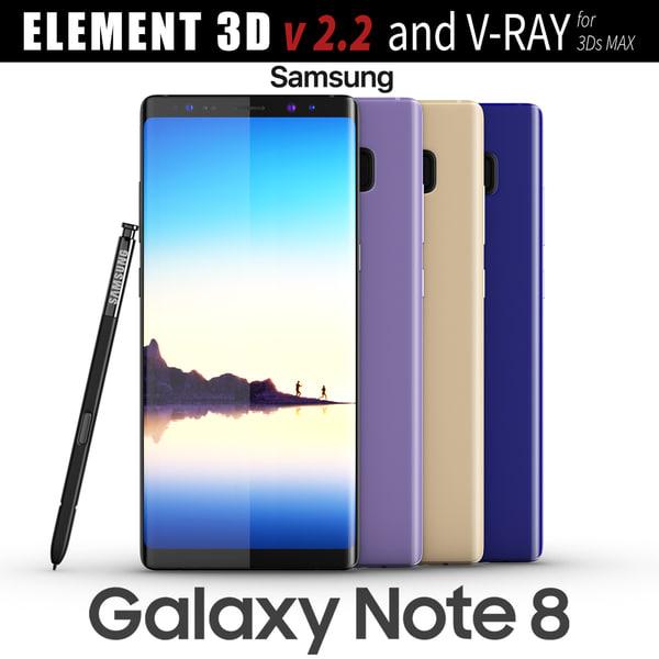 samsung galaxy note 8 3D