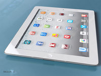 3D generic ipad model