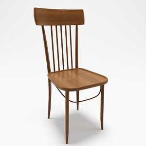 3D vienna chair