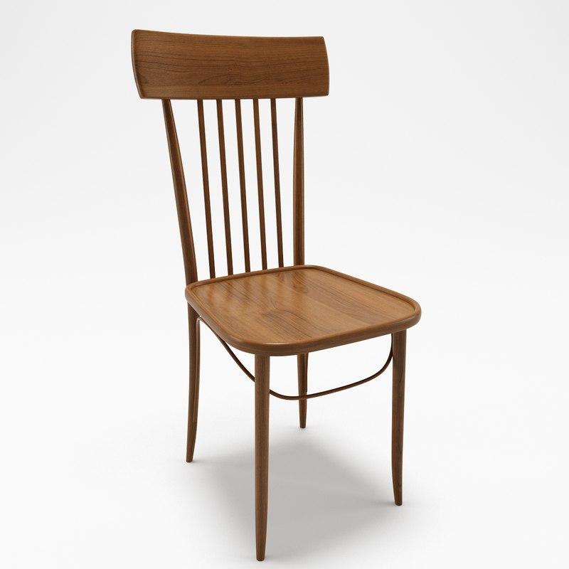 3D vienna chair