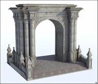3D structure pilar model