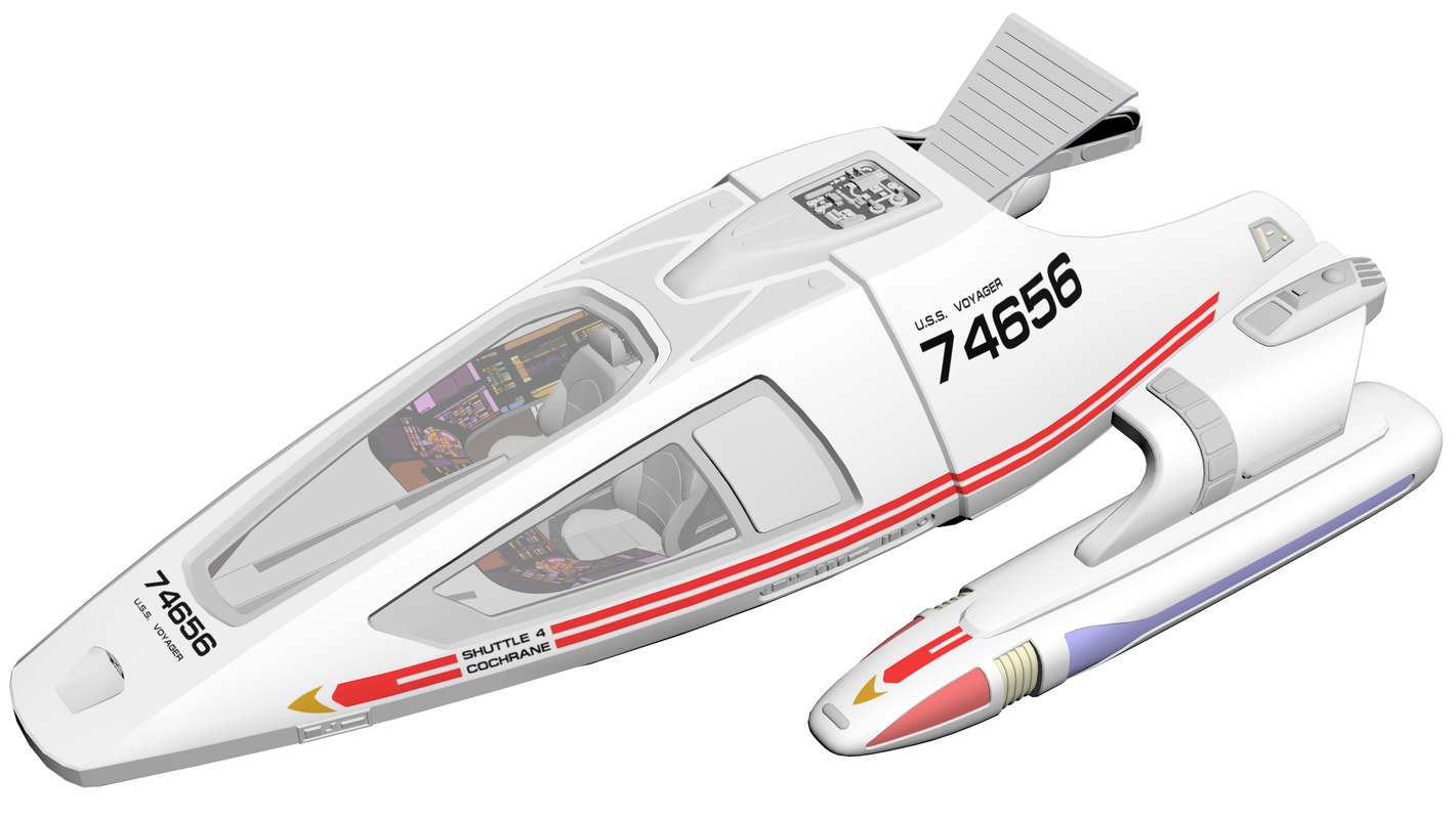 shuttle craft - type 3D model