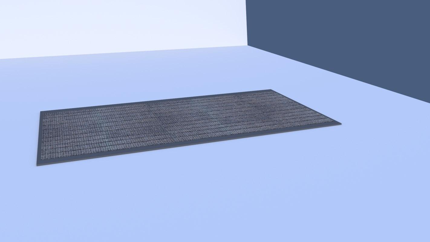 3D floor door mat