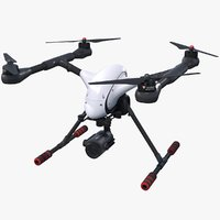 3D model quadrocopter walkera voyager 4