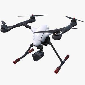 3D model quadrocopter walkera voyager 4