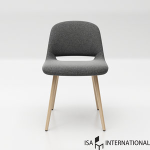 isa international maestro wood 3D model