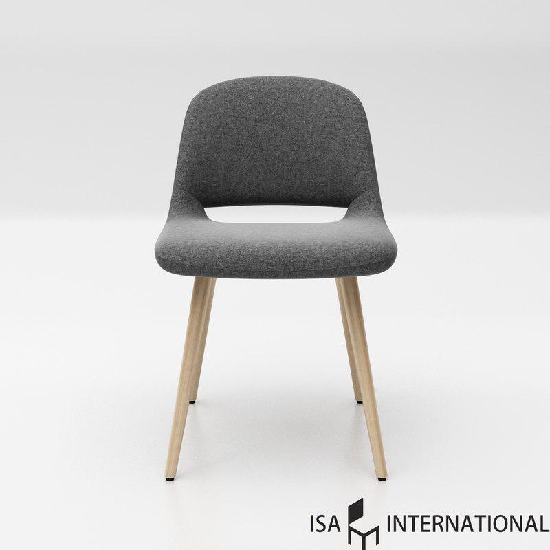 isa international maestro wood 3D model