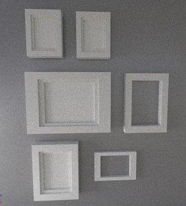 picture frame set model