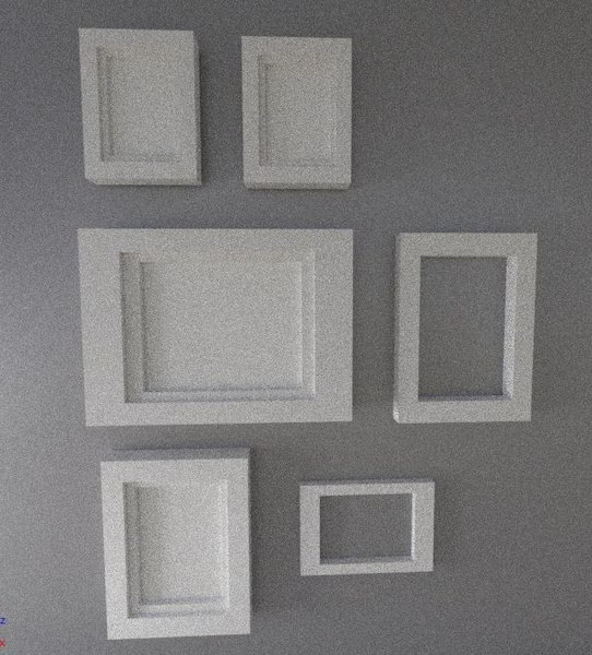 picture frame set model