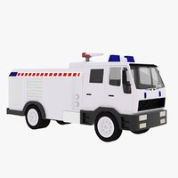 original truck vehicle 3D