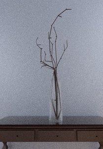 vase sticks 3D model