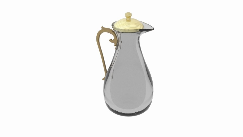 coffee tea jug 3D model