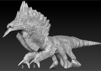 griffin zbrush 3D model