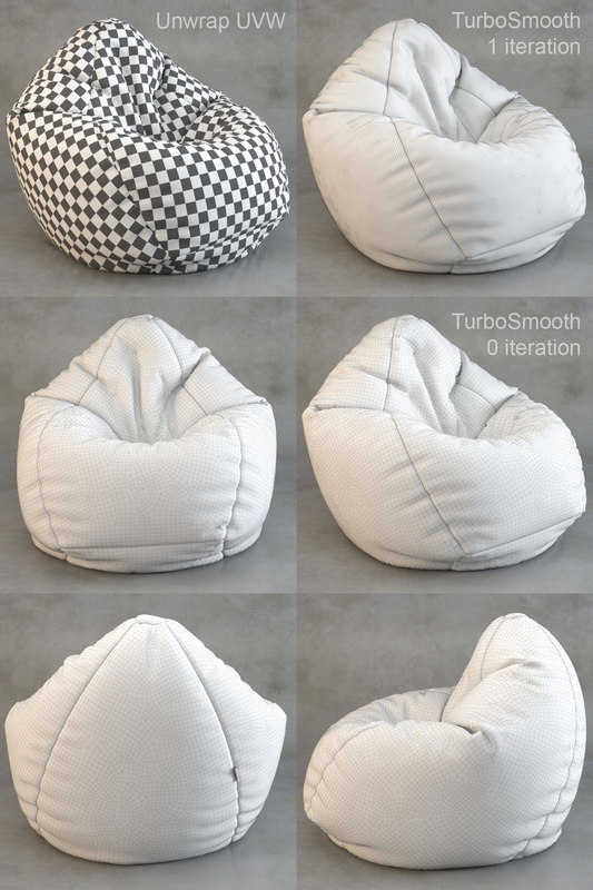 ... 3D Bean Bag Chair Wayfair ...