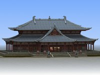 Chinese Ancient Architecture (Exterior And Interior)